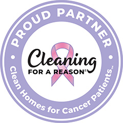 Proud Partner Cleaner Homes for Cancer Patients